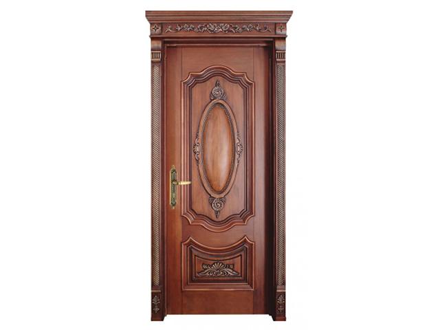 Mẫu cửa gỗ 1 cánh 2
