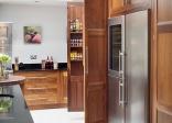 Tủ bếp gỗ Walnut
