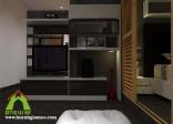 Đồ gỗ nội thất chung cư nhà Chị Ly