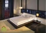 Mẫu giường ngủ gỗ kiểu Nhật đẹp và sang trọng