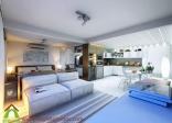 Nội thất căn hộ chung cư 29m2