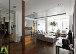 Mẫu thiết kế nội thất chung cư cho căn hộ chung cư