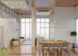 Mẫu thiết kế nội thất chung cư đơn giản cho căn hộ