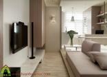 Thiết kế và thi công nội thất chung cư nhỏ hẹp